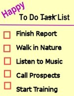 Happy To Do List