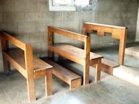 Pews in Smallest Church