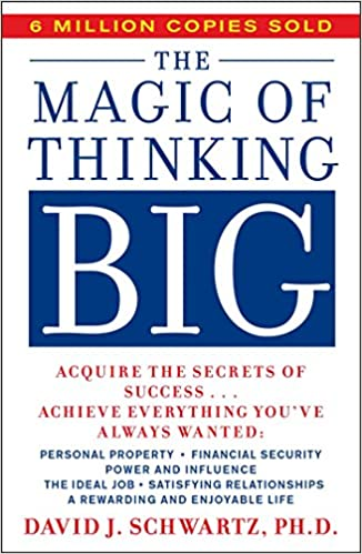 Cover of Magic of Thinking Big